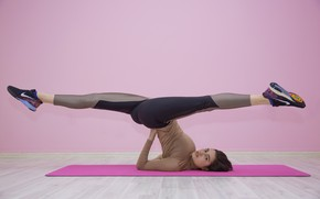 Picture Girl, Sport, Exercise, Stretching