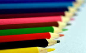 Picture pencils, a number, drawing, stylus