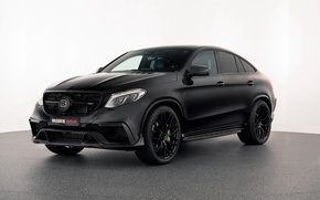 Picture background, coupe, Mercedes, Brabus, Mercedes, Coupe, crossover, C292