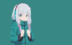 Picture mussune, Sagiri Izumi, Megumi Jinno, anime, manga, bishojo, japanese, EroManga-Sensei, Izumi Masamune