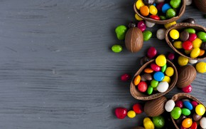 Wallpaper chocolate, candy, Easter, sweets, easter, chocalate