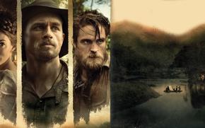Picture cinema, girl, Sienna Miller, Robert Pattinson, hat, jungle, woman, man, movie, Brazil, film, Charlie Hunnam, …