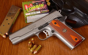 Picture gun, weapons, gun, pistol, weapon, M1911, 1911, Ruger, M1911 pistol, Ruger
