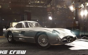 Picture The Crew, Realistic Car Modeling, MERCEDES 300 SLR