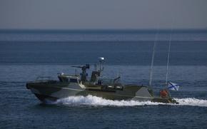 Picture boat, Raptor, The Black Sea Fleet, anti-sabotage, duty