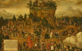 Picture picture, Tabula Cebetis, 1573-the year