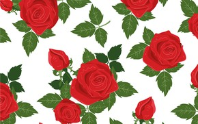 Wallpaper rose, background, texture, roses, vector, background, pattern, flowers