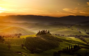 Picture Italy, Tuscany, San Quirico d'orcia