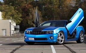 Picture Camaro, butterfly, Tuning Car