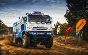 Picture Sport, Speed, Truck, Master, Beauty, Russia, Beast, Kamaz, Rally, Rally, KAMAZ, The roads, Best, RedBull, …