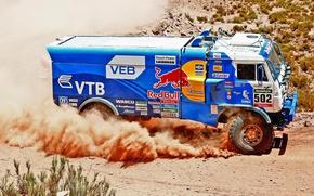 Picture Race, Dakar, Dakar, Sport, Kamaz, 502, Rally, Master, Truck, KAMAZ, Master