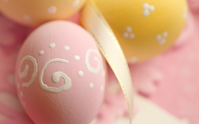 Wallpaper decoration, Easter, pink, Easter, tape, Happy, spring, eggs