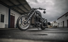 Picture background, motorcycle, Kawasaki VN 1500