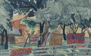 Picture 1916, Charles Ephraim Burchfield, Late July Afternoon