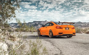 Picture landscape, design, style, car, rear view, BMW M4