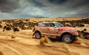 Picture Sand, Red, Auto, Mini, Sport, Machine, Speed, Race, Rally, Dakar, Dakar, SUV, Rally, X-Raid Team, …