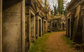 Picture England, London, the crypt, Highgate cemetery