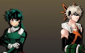 Picture anime, hero, friends, manga, powerful, strong, uniform, yuusha, enemy, seifuku, grenade, Boku no Hero Academy, …
