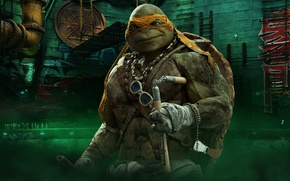 Picture cinema, TMNT, movie, Teenage Mutant Ninja Turtles, Michelangelo, ninja, hero, film, shinobi, yuusha, bysachso74