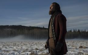 Wallpaper the film, actor, the revenant, leonardo dicaprio, Leonardo DiCaprio, survivors, snow, snow