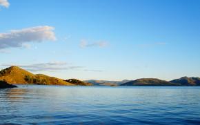 Picture lake, water, stay, Kazakhstan, summer, Bukhtarma, reservoir