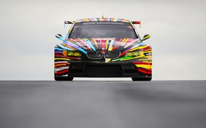 Picture Color, Auto, Vinyl, BMW, Sport, Machine, Grille, BMW, The hood, Lights, Color, Art, Art, GT2, ...
