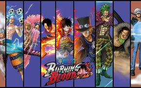 Picture game, One Piece, anime, asian, manga, japanese, oriental, asiatic, powerful, strong, sugoi, One Piece: Burning …