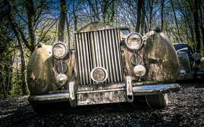 Picture machine, Rolls Royce, scrap