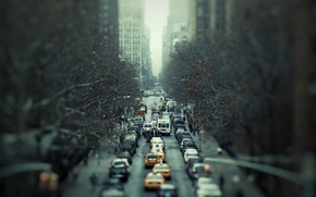Picture road, the city, movement, cars, Traffic