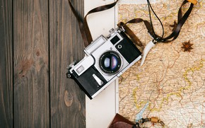 Picture Map, The camera, Journey, Training