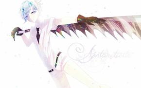 Picture girl, sword, anime, art, House no Kuni