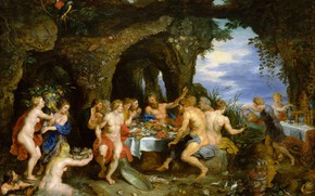 Wallpaper picture, Pieter Paul Rubens, Holiday Ahela, mythology, Peter Paul Rubens, Jan Brueghel the elder