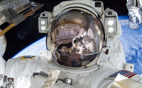 Picture USA, ISS, astronaut, NASA, Terry Wayne VIRTs