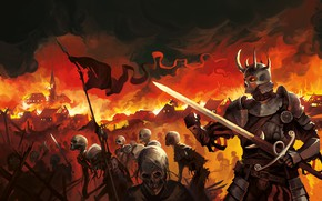 Picture fire, fire, freaks, The Devils Landsknecht, Horde