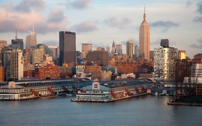 Picture New York, Panorama, Building, City, USA, USA, America, Manhattan, Manhattan, New-York, Panorama