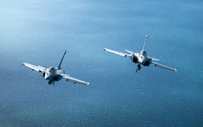 Picture multi-role fighter, French, Dassault Rafale, Squall