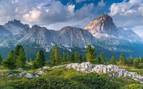 Picture mountains, Italy, The Dolomites, Dolomites
