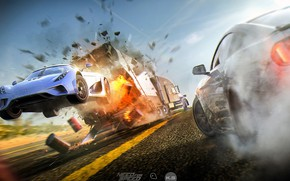 Wallpaper machine, the game, dust, Need for Speed: Payback