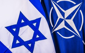 Picture flags, NATO, Israel