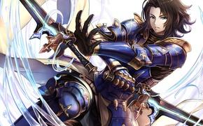 Picture sword, game, armor, anime, ken, blade, asian, warrior, japanese, oriental, Granblue Fantasy, Granblue Fantasy: The ...