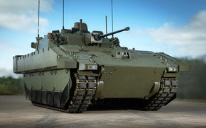 Picture weapon, tank, armored, military vehicle, armored vehicle, armed forces, military power, war materiel, 081