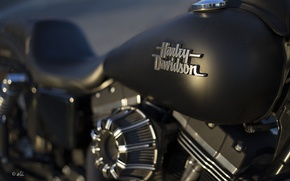 Wallpaper background, motorcycle, Harley Davidson