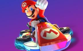 Picture game, Mario, man, Nintendo, Mario Kart 8, Nintendo Switch, kart, Mario Kart 8 Deluxe