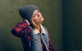 Picture model, hat, actress, Brooklyn Decker