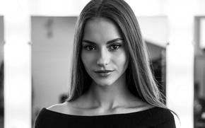 Picture background, model, hair, cutie, Valeria