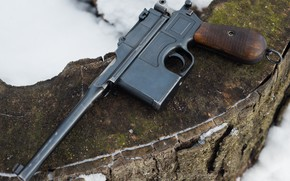Picture gun, Mauser, 1918, C96