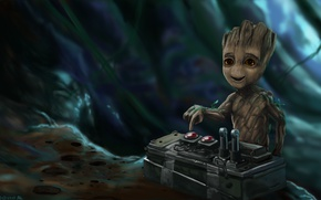 Picture Groot, Guardians of the Galaxy 2, Little Groot, Guardians of the galaxy 2, I am …