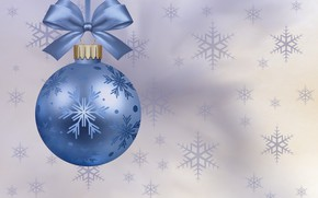 Picture background, ball, New year, bow
