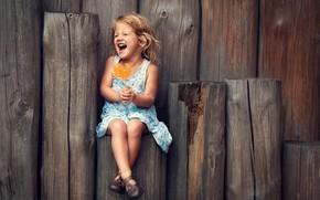 Wallpaper happiness, laughter, girl, Lollipop, cock