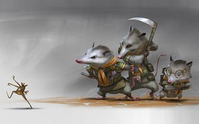 Picture frog, art, rat, Illustrator, scout, Rudy Siswanto, Scout Brother